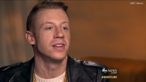 Macklemore talks overcoming substance abuse