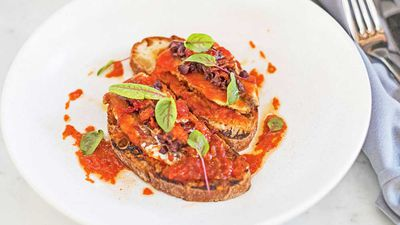 Love.Fish W.A. sardines on toast