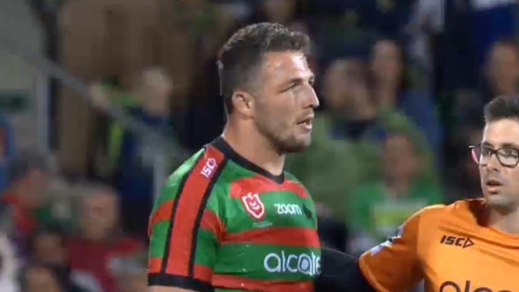 Rabbitohs enforcer Sam Burgess not feeling the love at South Sydney: report