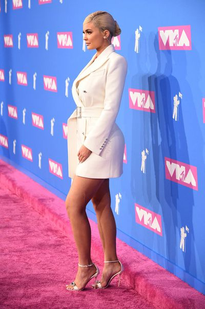 Kylie Jenner in Tom Ford at the 2018 MTV Video Music Awards