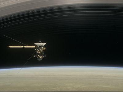 NASA journeys through Saturn and its rings