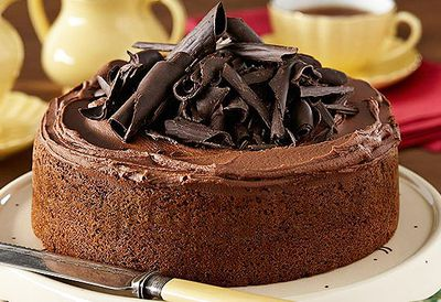 7. 'One bowl' chocolate cake