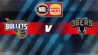 Round 9: Brisbane Bullets v Adelaide 36ers