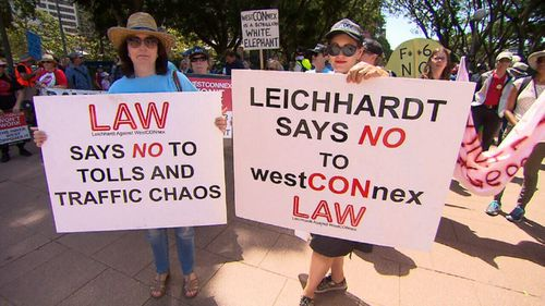 Many of the unions and community groups voiced concern of the billions of dollars being poured into new road projects, while the public transport networks are understaffed and neglected. (9NEWS)