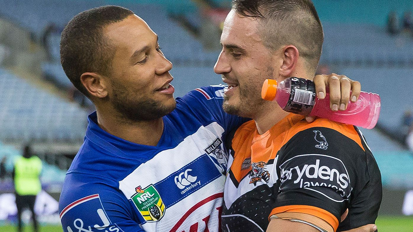 Moses Mbye and Josh Reynolds