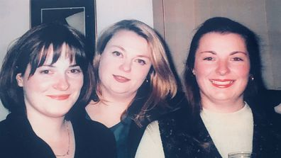 Monica Lonergan, Rachael Lonergan and Katherine Scott - Rachael and Katherine both had cancer