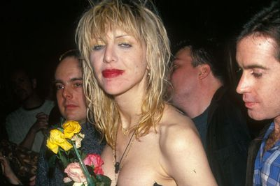 While Courtney has a long history long history of rock n roll mayhem under her belt, it seems as though her true weapon of mass destruction is not alcohol or drugs, but her Twitter account. <br/><br/>Love was recently forced to cough up a hefty $430, 000 settlement for her Tweet-rave against her former friend and fashion designer Dawn Simorangkar.