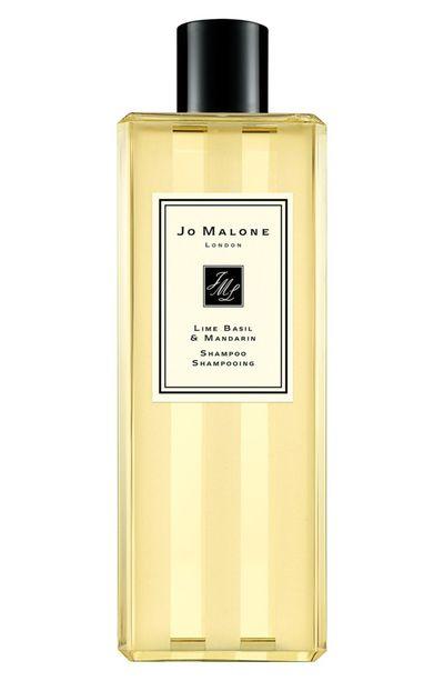 "Jo Malone <a href=""https://www.jomalone.com.au/product/3643/10102/bath-body/shampoo-and-conditioner/lime-basil-mandarin-shampoo"" target=""_blank"">Lime Basil & Mandarin Shampoo</a>, $40.00 <br>"