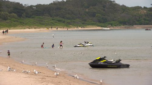 Jet skis have become a summer staple in the area.