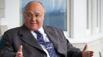 Why Russell Crowe was 'exhausted' playing Roger Ailes in The Loudest Voice