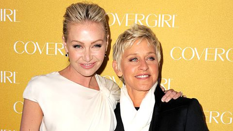 Ellen DeGeneres is making a TV show for Portia De Rossi... awww