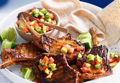 "Recipe:<a href=""/recipes/ipork/8348014/mexican-pork-cutlets-with-avocado-salsa"" target=""_top"" draggable=""false"">Pork cutlets with avocado salsa</a>"