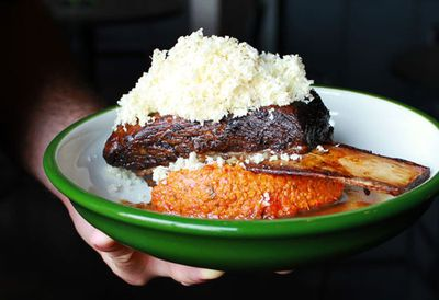 """<a href=""""http://kitchen.nine.com.au/2016/05/20/10/54/sth-centrals-12hour-short-rib-of-beef"""" target=""""_top"""">Sth Central's 12-hour short rib of beef</a><br /> <br /> <a href=""""http://kitchen.nine.com.au/2017/01/24/09/20/australian-v-texan-barbecue"""" target=""""_top"""">RELATED: Australian v Texan barbecue &ndash; everything you wish you knew</a>"""