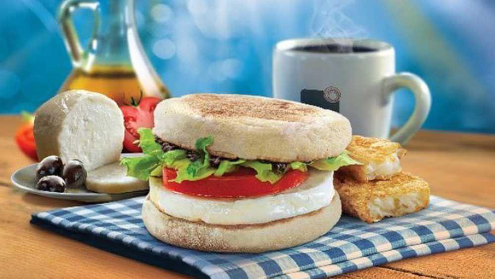 Halloumi breakfast item