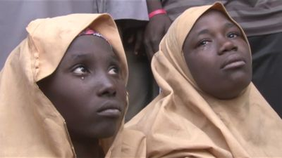 Boko Haram returns Nigeria girls, warns not to put in school