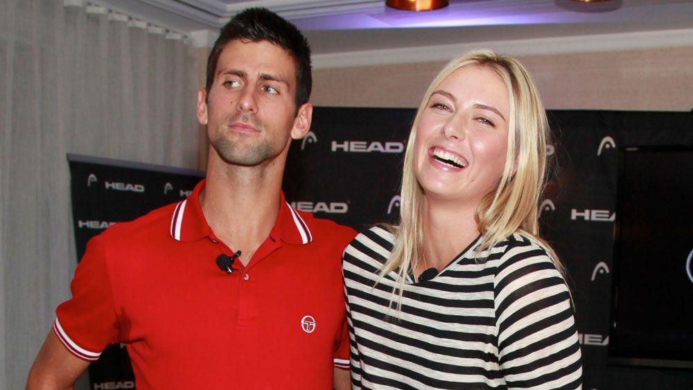 Djokovic supports Sharapova