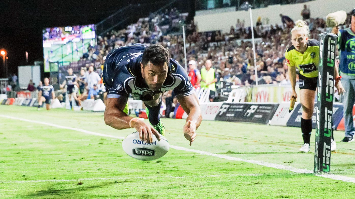 Late try clinches NRL thriller for North Queensland Cowboys over Newcastle