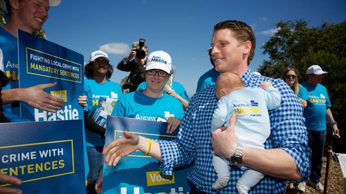 Liberal candidate for Canning Andrew Hastie. (AAP)
