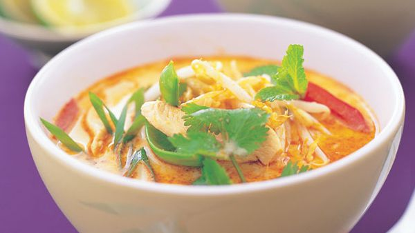 Light and easy laksa