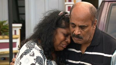 """Myuran Sukumaran's mother has pleaded with Indonesia not to execute her """"healthy, beautiful"""" son. Ahead of their scheduled execution, these are the final steps in the Myuran Sukumaran and Andrew Chan's stories. (9NEWS)"""