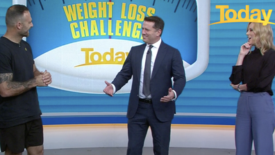 The Today host revealed he finds it difficult to fit exercise into his day.