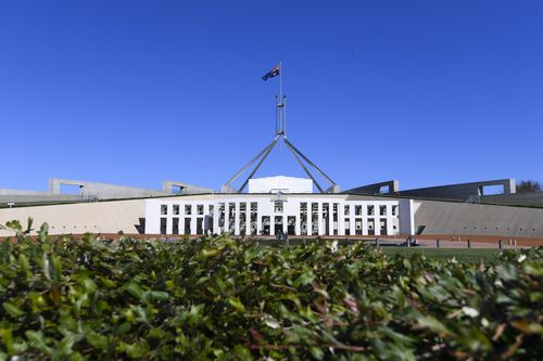 Parliament House in Canberra turns 30 years old on Wednesday. (AAP)