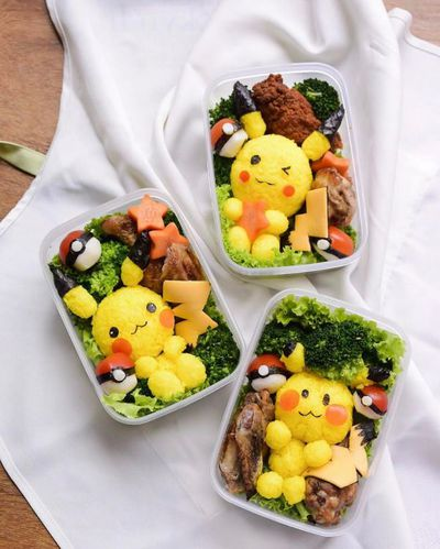 "<p><a href=""http://littlemissbento.com/"" target=""_blank"">Little Miss Bento</a> is a food artist and cookbook author - check out her Pikachu Bentos!</p>"