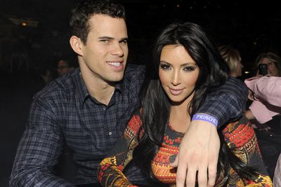 Kim started dating NBA pro Kris Humphries back in October 2010 and he popped the question just seven months later.
