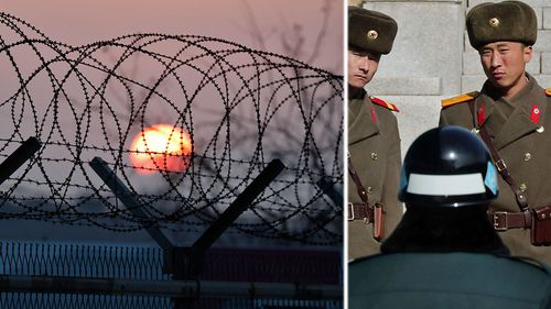 Panmunjom is close to the heavily guarded DMZ between the North and South koreas. (Photo: AP).