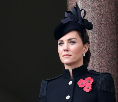 Kate Middleton at Remembrance Sunday ceremony, November