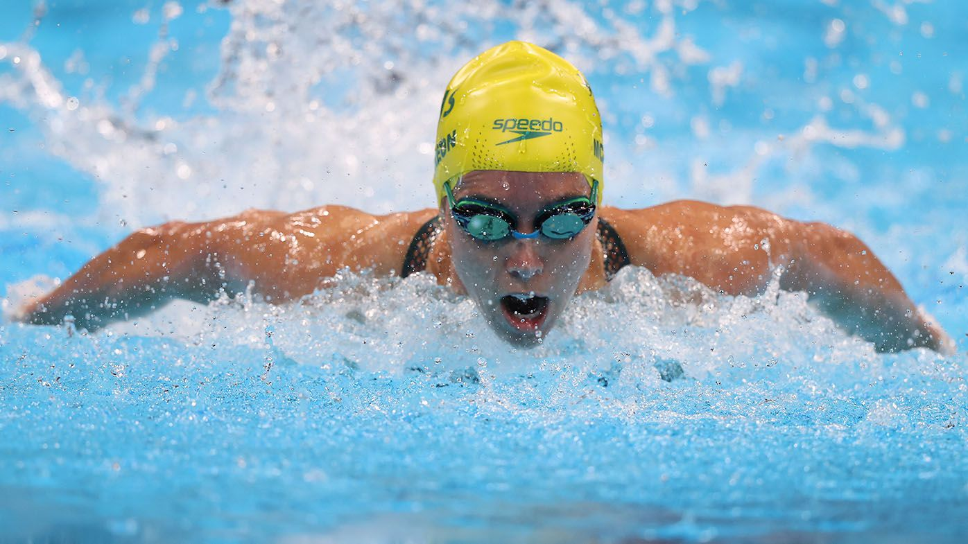 McKeon claims bronze medal in 100m butterfly