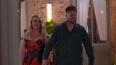 Melissa and Bryce receive a frosty reception at the Reunion Dinner Party