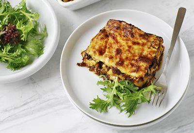 Oxtail lasagne