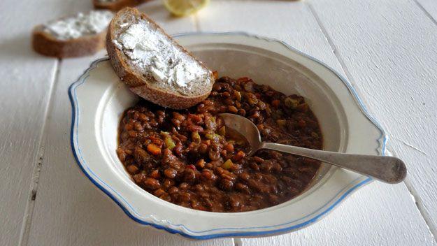 Greek lentil stew