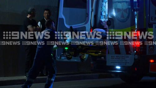 The 16-year-old was rushed to Royal Prince Alfred Hospital with critical injuries. Picture: 9NEWS