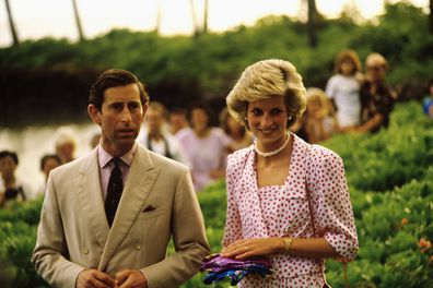 Charles and Diana married in 1981 and separated in 1992.