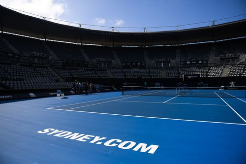 The Olympic Park Tennis centre is getting a canopy roof as part of a $50 million upgrade.
