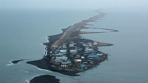 Devastating effects of climate change writ large in Alaska