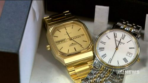 A cache of stolen goods, including a watch worth $60,000, were found at Miao's home.