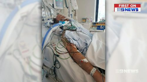 Victim John Vennell was placed in an induced coma after being attacked.