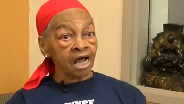 Willy Murphy wasn't messing around when she stopped an intruder that broke into her home in Rochester, New York.