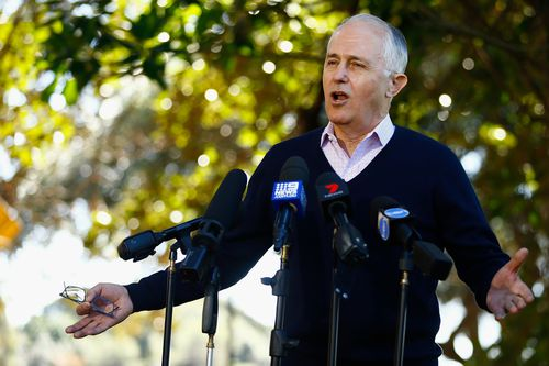 The PM said Labor had a history of telling outrageous lies. Picture: AAP