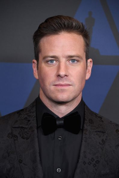 Armie Hammer attends the Academy of Motion Picture Arts and Sciences, 2018