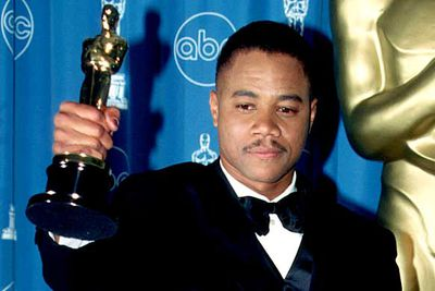 "<B>The Oscar:</B> Best Supporting Actor for <I>Jerry Maguire</I>, at the 69th Academy Awards (1997).<br/><br/><B>The speech:</B> Cuba delivered a speech brimming with joy and pure excitement, sending his love to pretty much everybody. When the orchestra tried to cut him off he just kept on going, with the music only adding to the power of the moment.<br/><br/><B>Best bit:</B> ""I love you, I love you all! Yes! Woo! Everybody!"""