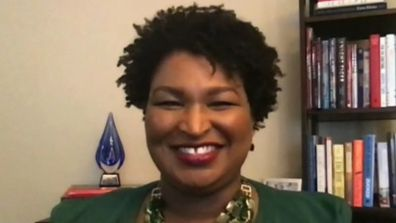 Stacey Abrams, Kareem Abdul-Jabbar.