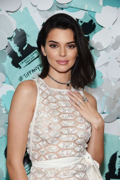 Kendall Jenner at the Tiffany & Co. Paper Flowers event in New York, May, 2018