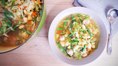 Two sausage scrap soup that'll save your budget