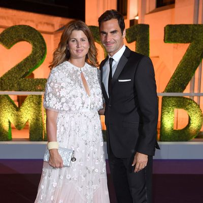 <strong>Roger Federer and Miroslav Federer </strong>