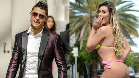 Football star Ronaldo 'cheats on model girlfriend' with Brazilian babe 'Miss BumBum'