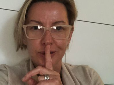 Deb Knight's 'I woke up like this' selfie, is not out of the ordinary for the down to earth mum of three who hates makeup!